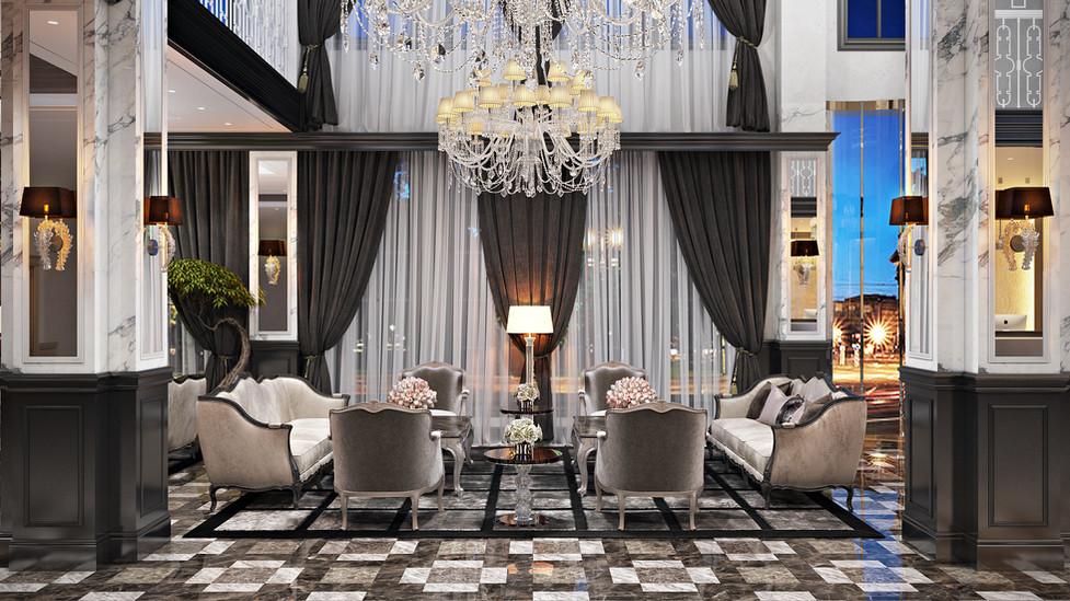 HOTEL RETLAW _ GRAND LOBBY