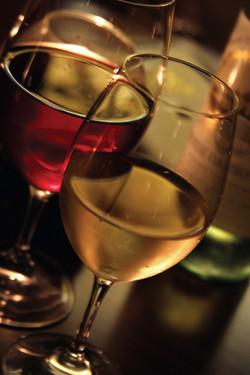 RIEDEL RED & WHITE GLASSES