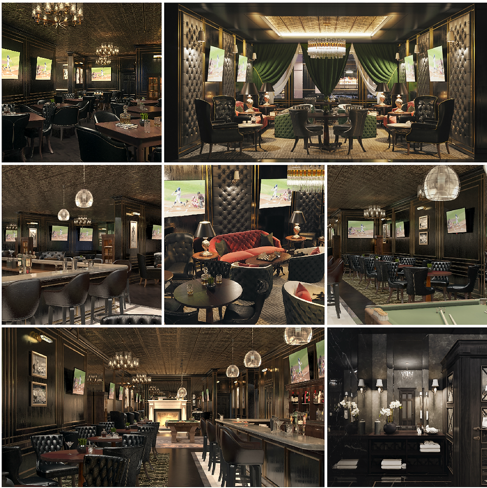 Player's Club will be a retro-style gaming and sports tavern, in a refined-casual setting, featuring an extensive array of classic board games, plus billiards and state-of-the-art televised sports.     The setting will offer a refined old-world ambiance reminiscent of a nineteenth-century English gentlemen's club accented by tastefully inspired sports memorabilia. Classic Rock music, at subdued, unobtrusive volume, will serve as a backdrop.     The menu will showcase specialty burgers and premium steaks coupled with regional cuisines, such as bratwurst, Wisconsin's soul food. Selections will feature local staples in addition to new market trends; a wide array of appetizers, flatbread pizzas, deli sandwiches, fresh salads, Wisconsin cheeses, complemented by classic cocktails, local craft beers, and wine-by-the-glass.
