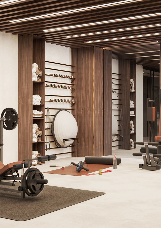 THE LEGACY HOTEL FITNESS CENTER
