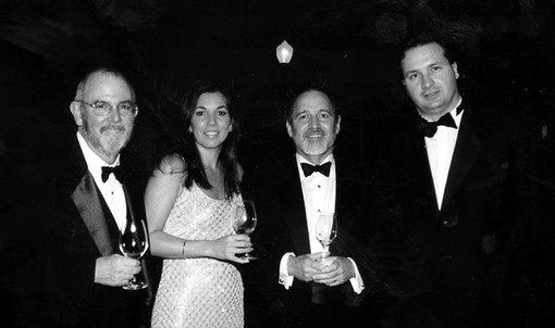 CHIP CASSIDY, YVONNE, DR. SERGIO GONZELEZ AND FABRICE LATOUR GALA DINNER