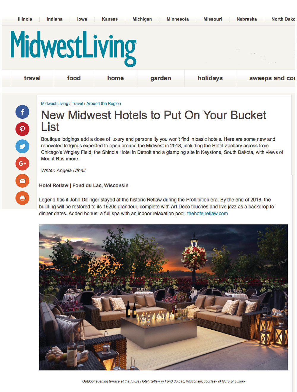 New Midwest Hotels to Put On Your Bucket List