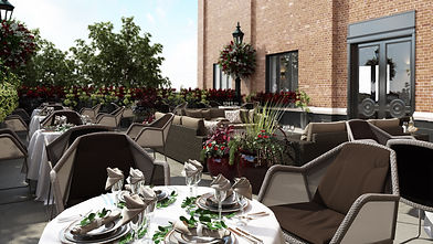 HOTEL RETLAW _ OUTDOOR TERRACE