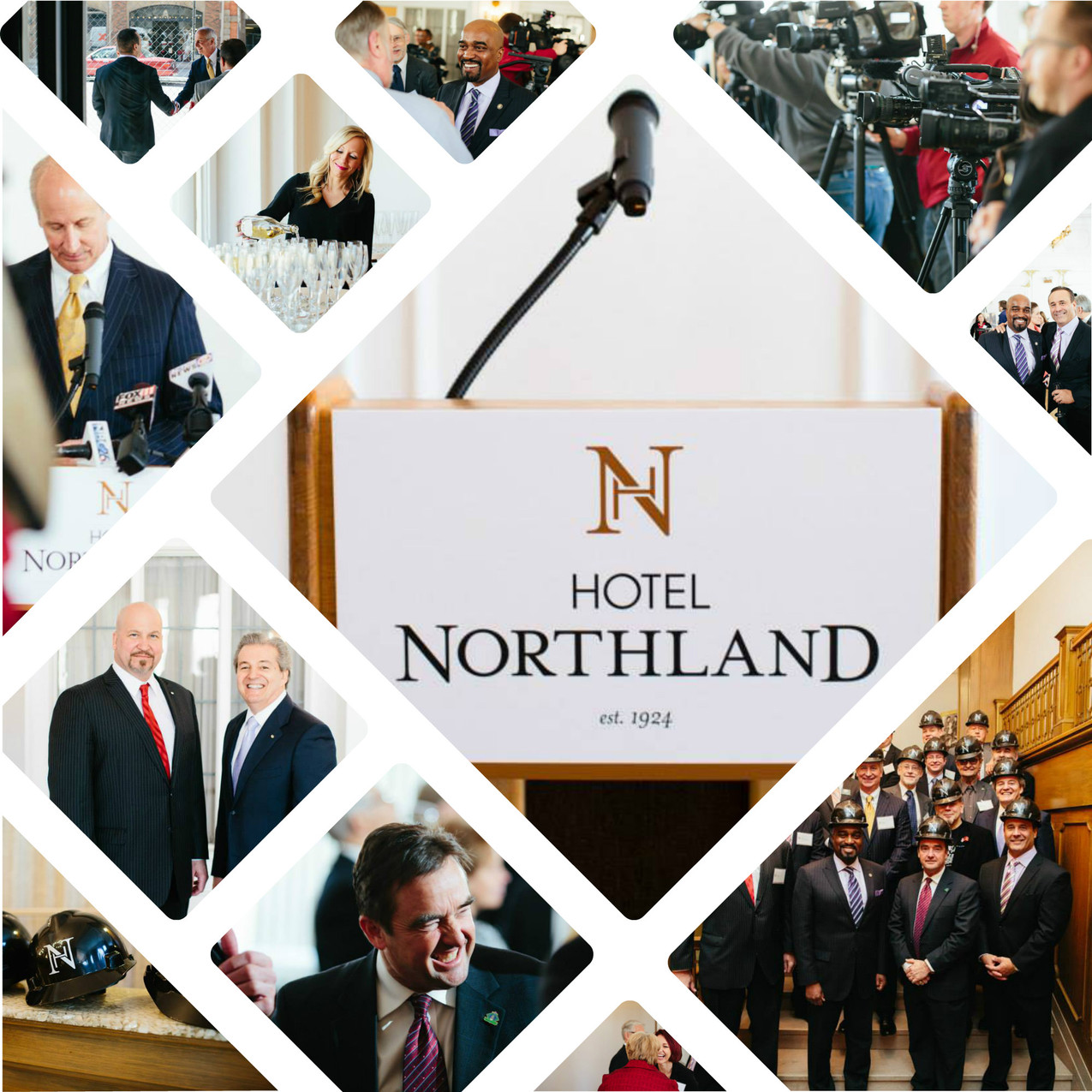 Hotel Northland Unveiling of Interio
