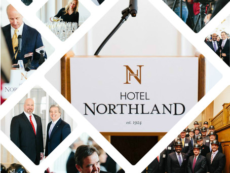 Hotel Northland 2015 |  The unveiling of the Interior Design Renderings of Main Lobby and Crystal Ba