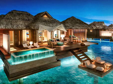 INTRODUCING OVER-THE-WATER VILLAS Sandals Royal Caribbean - Montego Bay, Jamaica