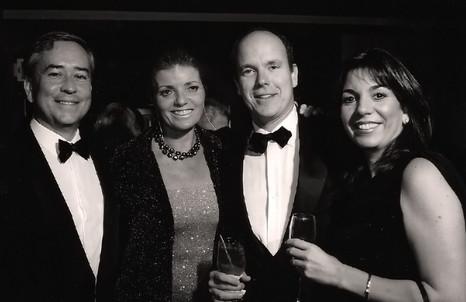 THIERRY & PATOU DESERMEAUX, PRINCE ALBERT AND YVONNE ROBERTS