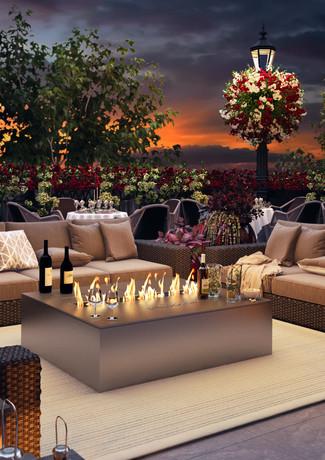 HOTEL RETLAW _ VIP OUTDOOR EVENING TERRA
