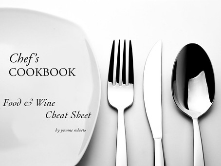 Food & Wine Cheat Sheet