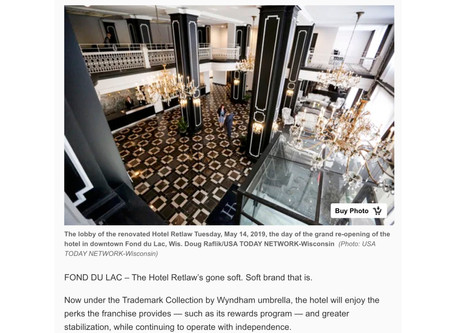 Trademark Collection by Wyndham franchise checks in at the Hotel Retlaw | Streetwise