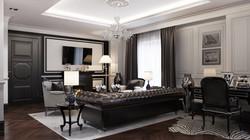 HOTEL NORTHLAND | LAMBEAU SUITE | INTERIOR DESIGN + 3D RENDERING