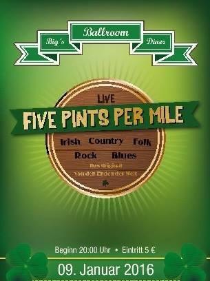 Five Pints Per Mile