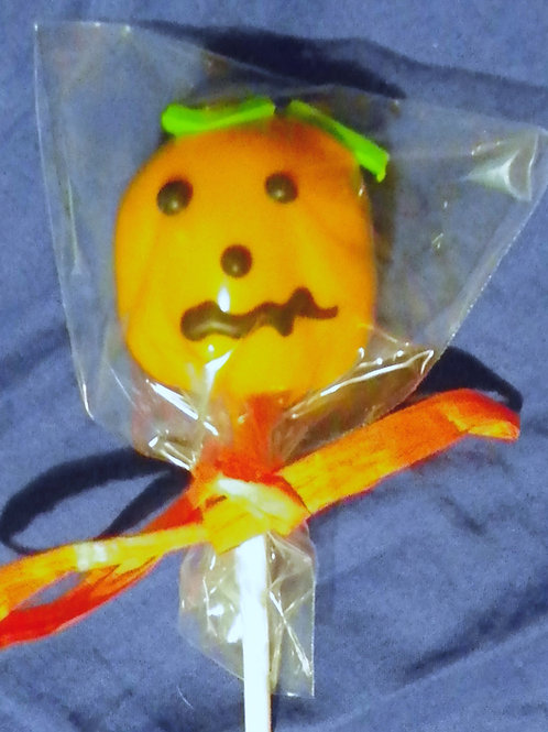 "Cake-Pop ""Halloween-Kürbis"""