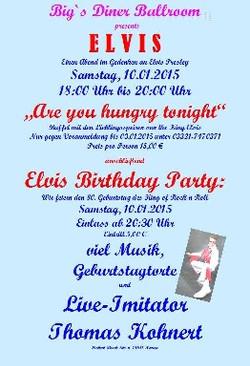 Elvis Birthday