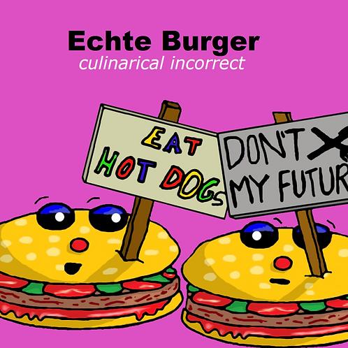 Taschenbuch: Echte Burger