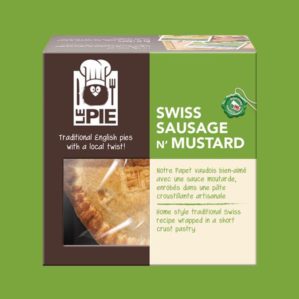 LePie Swiss Sausage n' Mustard