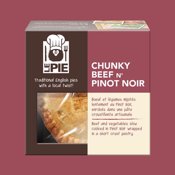 LePie Chunky Beef n' Pinot Noir