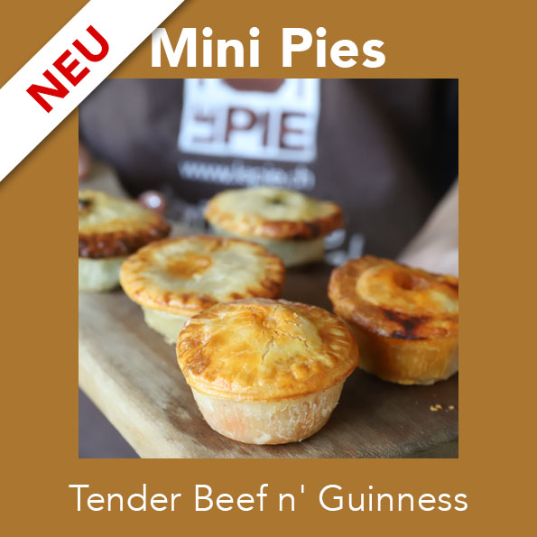 6 Mini Tender Beef n' Guinness