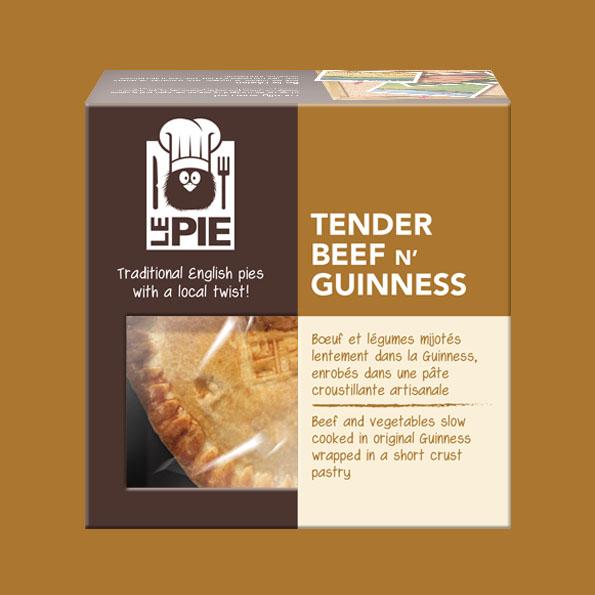 LePie Tender Beef n' Guinness