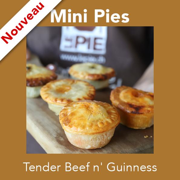 6 Mini Tender Beef n' Guinness