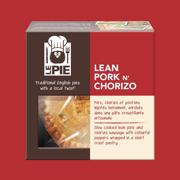 LePie Lean Pork n' Chorizo