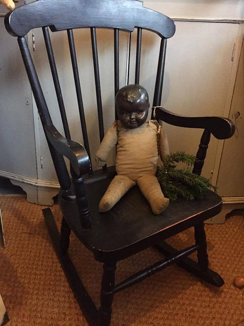 Lovely Vintage Child's Rocking Chair