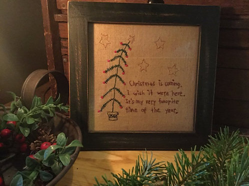 Stitchers in Rustic Green Frame