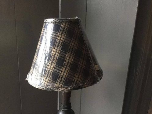 Blue Plaid Lampshade