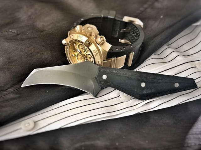 EDCEO Tactical Knife - Limited Edition Nitro-V Super Stainless Steel