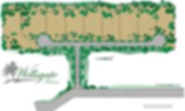 Plat of Lots for Wellsgate Terrace of Kellr
