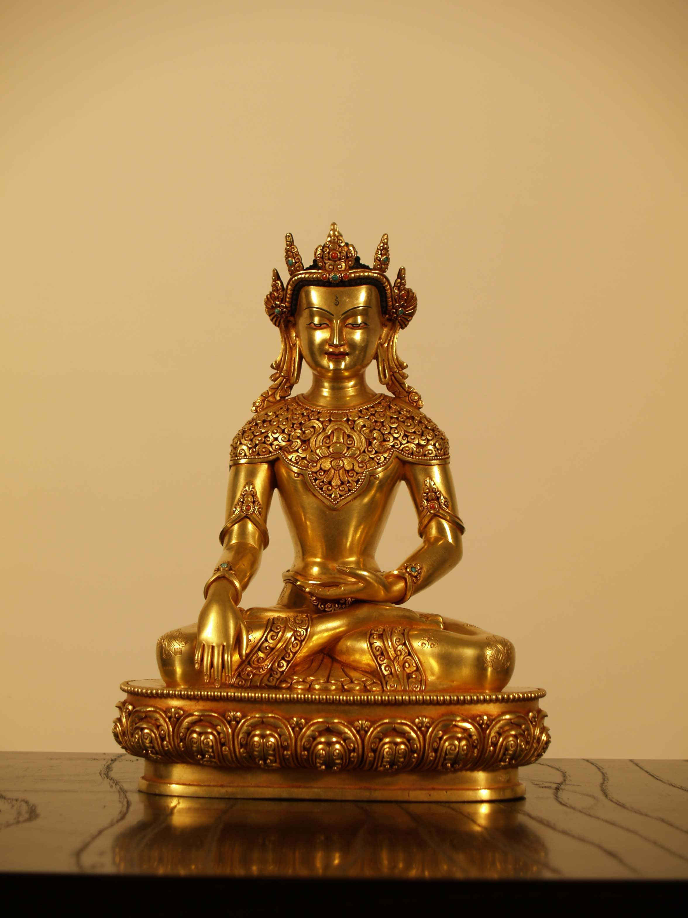 BUDDHA WITH CROWN 27㎝