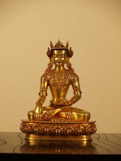 BUDDHA WITH CROWN 27㎝