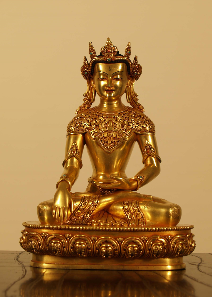 BUDDHA WITH CROWN