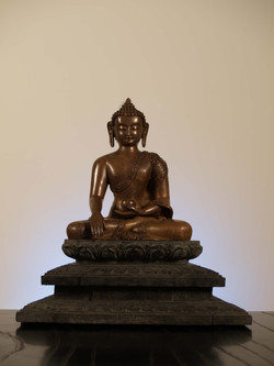 BUDDHA(with wooden base)② 30㎝