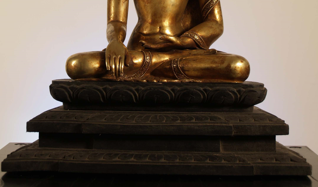 BUDDHA(with wooden base)①