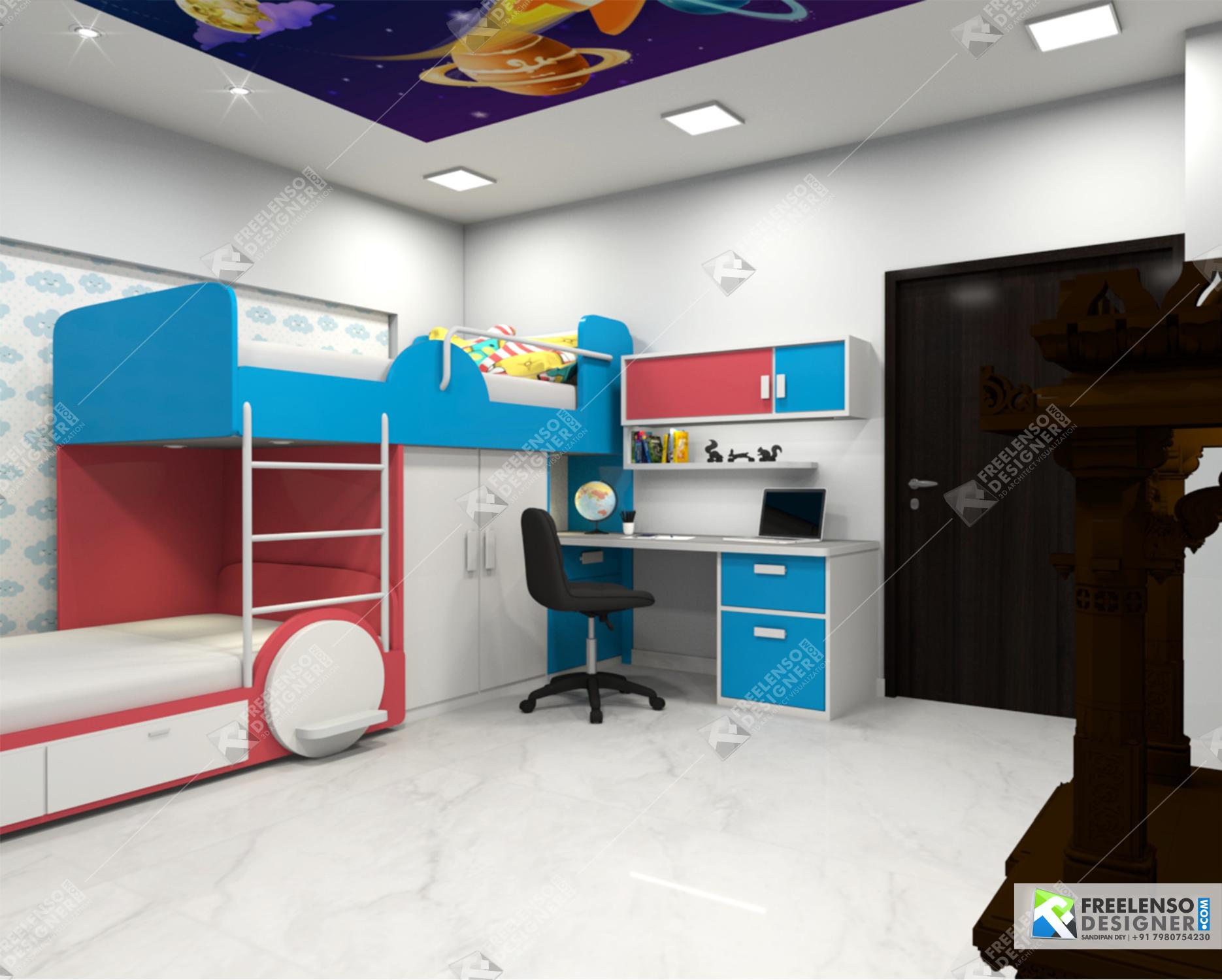Kids room 01
