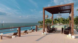 Summer Beach Lounge - Daytime - 1920x108