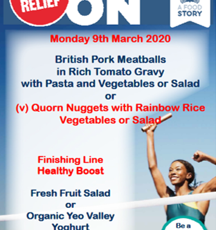 Sports relief lunch
