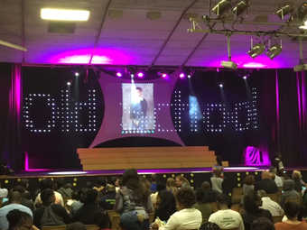 Stage with 12meter LED Curtain.JPG