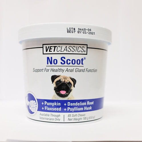 No Scoot Support for health anal gland Function