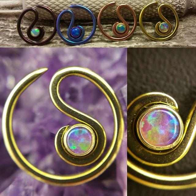 New niobium daith rings!_#daith #daithjewelry #daithpiercing #opal #anodized #justanotherhole