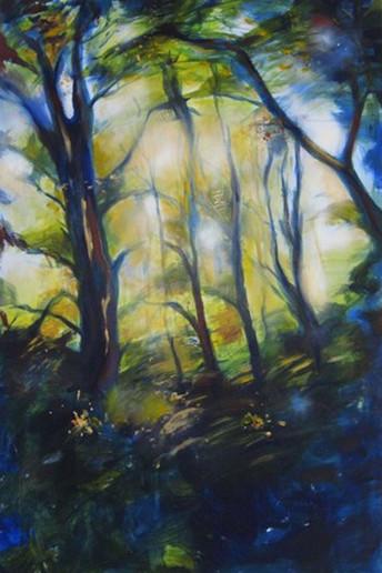 Grunewald Forest Scene IV
