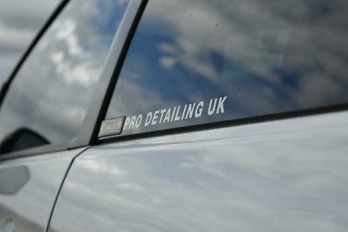 PRO DETAILING UK Sticker