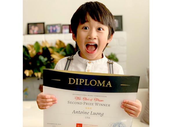 Congratulations to Antoine