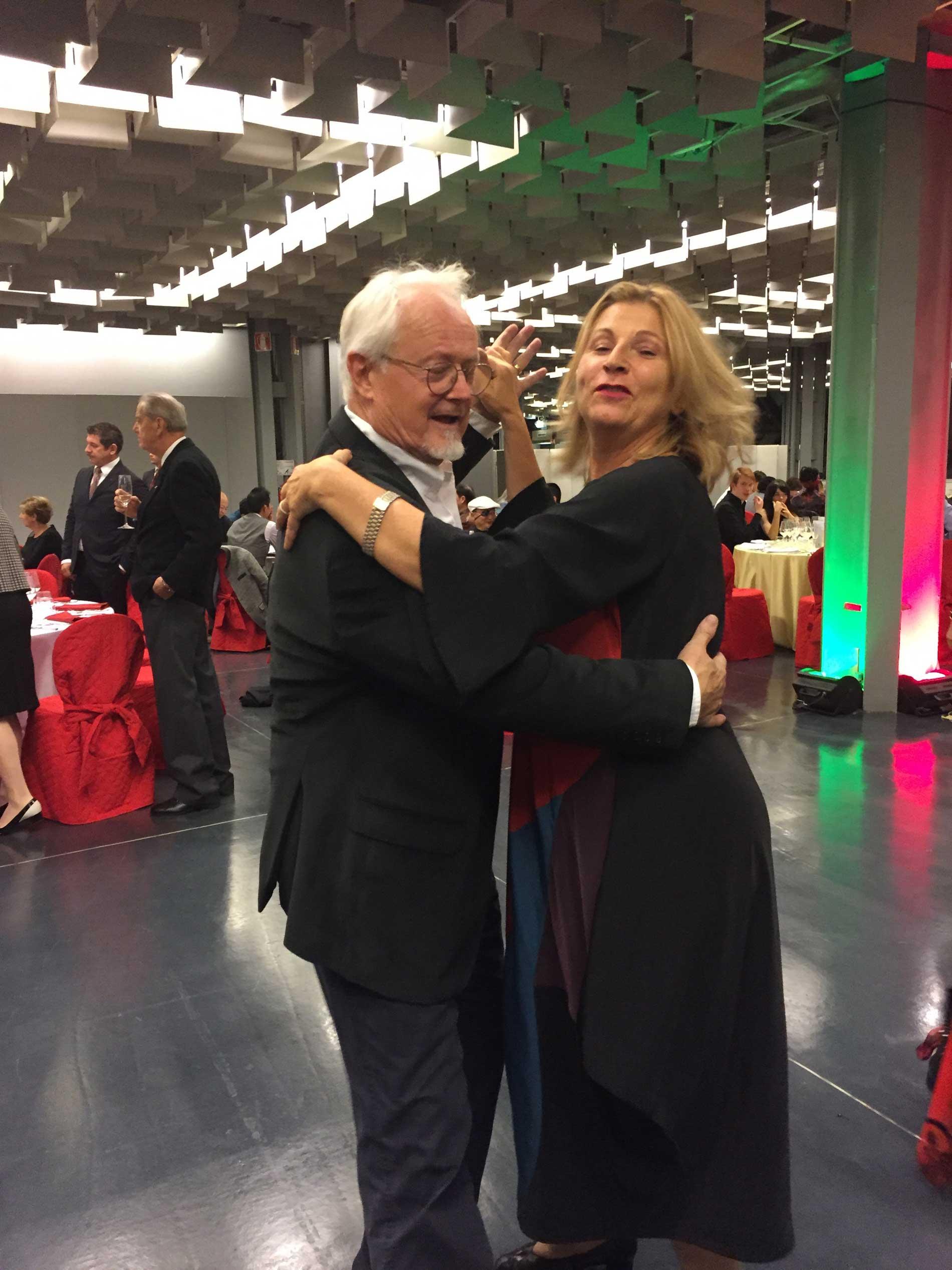 Bruna Colombo y Eric Würsten