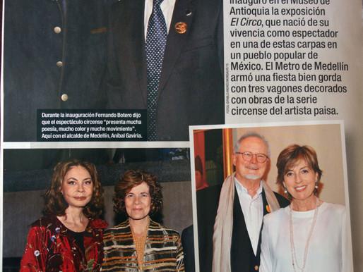 ArtOrganic en el cocktail-recepción de Fernando Botero