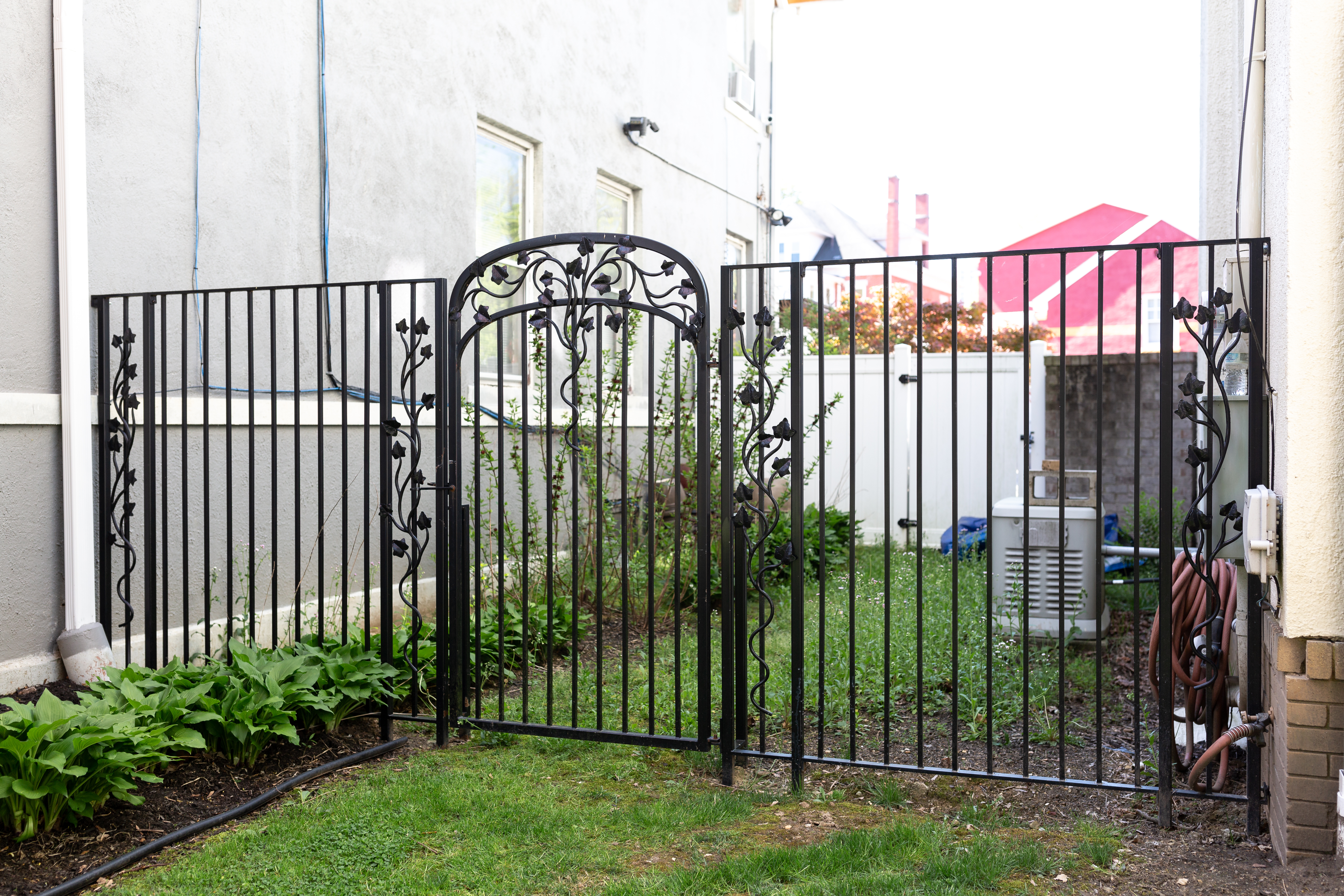 Gate 7 with fencing