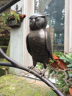 Owl Sculpture detail