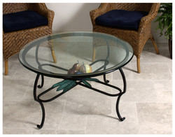 Coffee Table with Fruit Design