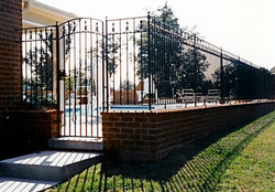 Gate 14 with fencing